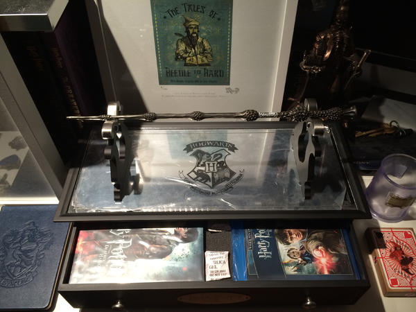 Ajd1984 harry potter collection blu ray forum for Elder wand stand