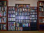 My DVD/CD collection in February 2007
