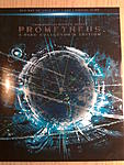 Prometheus 3D Blu-ray US version