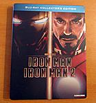 """Iron Man"" Double Feature German Steelbook"
