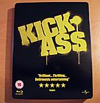 """Kick Ass"" UK Steelbook front"