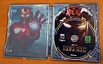 """Iron Man"" Double Feature German Steelbook Inside"