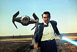 Cary Grant vs TIE fighter advance x 1