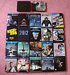 Group shot of all Blu-Ray Steelbooks I own as of September 5 2010.