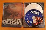"""Prince of Persia"" UK Steelbook 2-disc edition on the inside"
