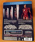 """Iron Man"" Double Feature German Steelbook back cover"