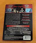 """The Crow"" German Steelbook Back Cover"